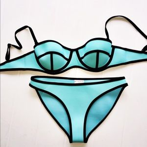 NEW & NEVER USED Bra Society Push up Bathing Suit